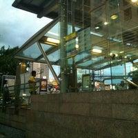 Photo taken at MRT Huai Khwang (HUI) by Nuzie K. on 10/3/2012