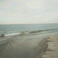 Photo taken at Desaru Beach by Liyana Z. on 11/11/2016