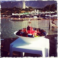 Photo taken at Escape Beach Club by Alper H. on 9/15/2012