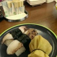 Photo taken at Okiru Running Sushi by Christan P. on 4/2/2016