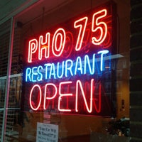 Photo taken at Pho 75 by Michael P. on 3/6/2013