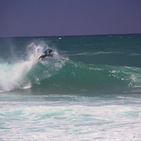 Photo taken at Banzai Pipeline by Luis R. on 10/29/2012