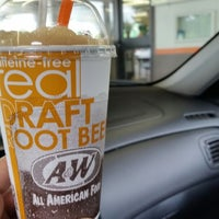 Photo taken at A&W Restaurant by Crystal A. on 6/10/2014