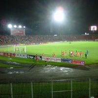 Photo taken at Stadium Sultan Muhammad IV by Firdz A. on 1/22/2013