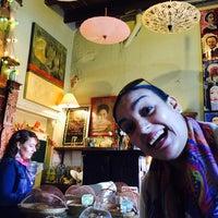 Photo taken at Caffe El Triunfo by Yaz S. on 1/14/2015
