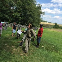 Photo taken at Virginia Monument, Gettysburg Battlefield by Paul K. on 7/24/2015