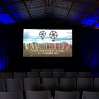 Photo taken at Gliderport Theatre #NVFF by Bob M. on 11/15/2013