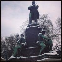 Photo taken at Tegetthoffplatz by Francisco G. on 3/21/2013