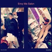 Photo taken at Envy Me Salon by Kikaymuch.Me C. on 2/19/2014