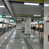 Photo taken at Keyuan Metro Station by babelfish z. on 1/17/2014