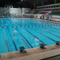 Photo taken at Pusat Akuatik Darul Ehsan (Aquatic Centre) by Ahmad Nazaril A. on 11/15/2012