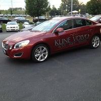 Photo taken at Kline Volvo by Austin W. on 8/13/2013