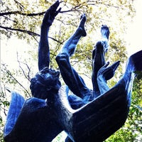 Photo taken at Umlauf Sculpture Garden by Christina on 9/21/2012