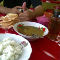 Photo taken at Warung Soto H. Syafik by irien p. on 12/2/2012