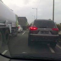 Photo taken at Jalan Tol Prof. DR. Ir. Sedyatmo by Ryan B. on 1/27/2014