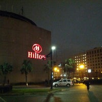 Photo taken at Hilton New Orleans Riverside by alberto on 3/2/2013