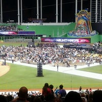 Photo taken at Marlins Park by Graciela B. on 4/21/2013