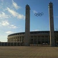 Photo taken at Olympiastadion by Simon M. on 12/5/2012