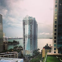 Photo taken at JW Marriott Hotel Miami by Daniel on 4/20/2013