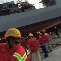 Photo taken at BOUSTEAD NAVAL SHIPYARD SDN BHD by Fasya A. on 5/4/2016
