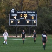 Photo taken at DeMartin Field by Phil C. on 10/18/2013