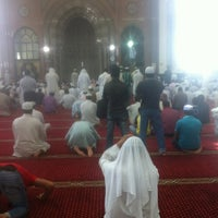 Photo taken at Shaikh Shakhbooth Ibn Sulthan - Musjid by Naseem M. on 10/19/2012