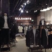 Photo taken at AllSaints by Dasha S. on 3/29/2014