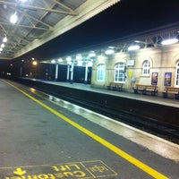 Photo taken at Exeter St Davids Railway Station (EXD) by Kelly M. on 10/5/2012