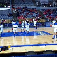 Photo taken at Burton Coliseum by SuperDave N. on 3/8/2014