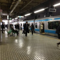 Photo taken at JR 大井町駅 by Seiichi K. on 12/14/2012