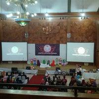 Photo taken at Balai Pertemuan Umum (BPU) by Iqbal V. on 7/3/2013
