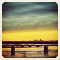 Photo taken at Pont Honoré-Mercier by Méliza D. on 4/10/2013