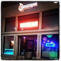 Photo taken at Tangerine Hookah Lounge by Kelly on 4/7/2013