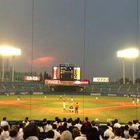 Photo taken at Meiji Jingu Stadium by Shin Y. on 7/11/2013