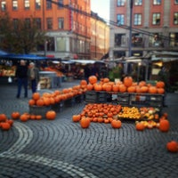 Photo taken at Hötorget by Patric R. on 10/26/2012