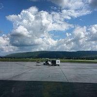 Photo taken at Elmira / Corning Regional Airport (ELM) by Christopher B. on 8/28/2013