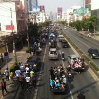 Photo taken at Phetchaburi Road by Aomaom S. on 12/9/2013