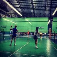 Photo taken at CC Badminton Court by Third25 J. on 9/18/2014