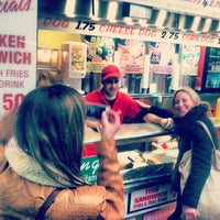 Photo taken at Papaya Dog by Dominic G. on 3/13/2013