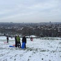 Photo taken at Meersbrook Park by Dan J. on 1/17/2016