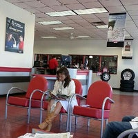 Photo taken at America's Tire Store by Dennis C. on 8/3/2013