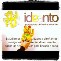 Photo taken at Ideanto by Ideanto on 11/9/2012
