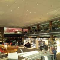 Photo taken at Kitchener Public Library - Central by Eric on 7/30/2014