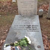 Photo taken at F. Scott Fitzgerald's Grave by Alex S. on 12/23/2013