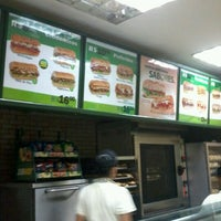 Photo taken at Subway by Claudia S. on 10/19/2012