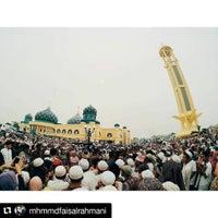 Photo taken at Masjid Agung Al Karomah Martapura by Muhammad Faisal R. on 9/24/2015