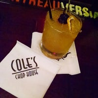 Photo taken at Cole's Chop House by Russell T. on 1/23/2015
