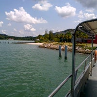Photo taken at Marina Island Jetty Complex by Najib Z. on 10/10/2012