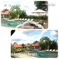 Photo taken at Samanea Resort Khao Yai by Thadnuphat T. on 11/11/2013