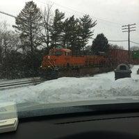 Photo taken at Rochelle Railroad Park by Jenny M. on 12/15/2013